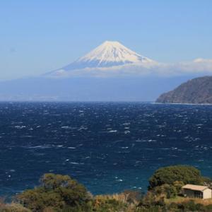 土肥からの富士山2月17日