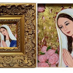 聖母マリア【vo.1】「医療従事者支援」アートチャリティーに参加しています!【thisisgallery】