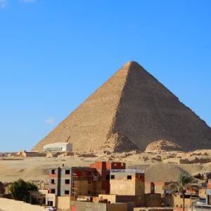 ピラミッドで大興奮!!