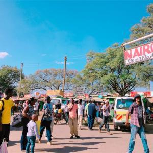 凶悪都市ナイロビに到着