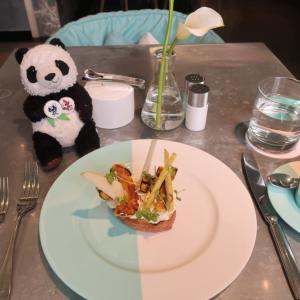 ニューヨーク女一人旅☆ティファニーで昼食を☆ブルーボックスカフェ