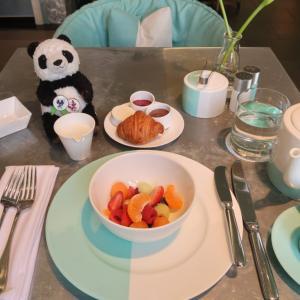 ニューヨーク女一人旅☆ティファニーで朝食を☆ブルーボックスカフェ