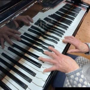 2021-02-18 シニアのピアノレッスン