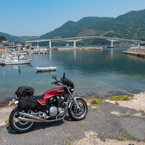 綺麗な海と沖家室島 CB1100  呉・周防大島ツーリング その④
