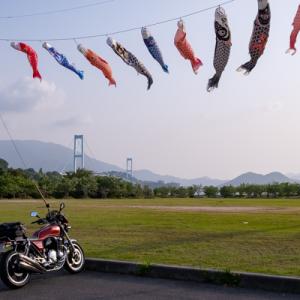 CB1100  安芸灘大橋から上蒲刈島  とびしま海道ツーリング その③