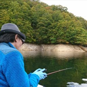 ワカサギ & 利根川冬季釣り場