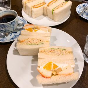 札幌の贅沢な朝食☆名物たらばがにサンド