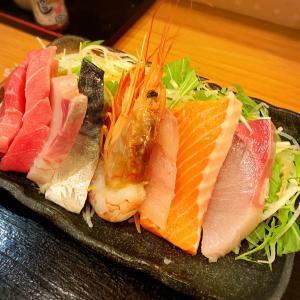 「孤独のグルメ」で紹介された魚介たっぷり定食@目黒区