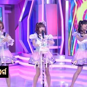 Mimigumo テレビでキャンディ披露