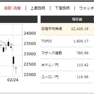 2月26日 端株4株購入
