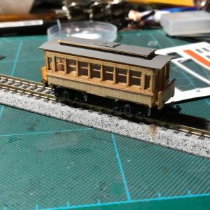 木造客車による遊休車両の活用策