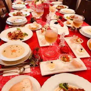クリスマス料理ー華やかで贅沢でそして気分はフランスの王侯貴族ー