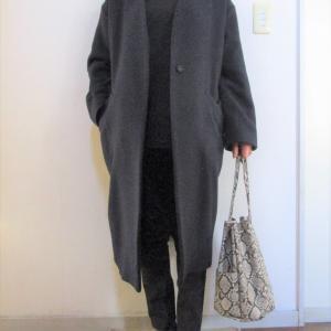 ネイビー×ブラック+靴下コーデ