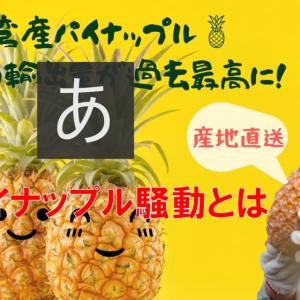 2021年 台湾パイナップル騒動