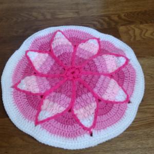 玉編みの円座