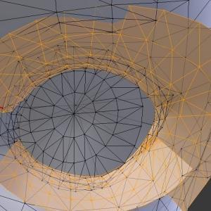 vroid studio blenderでテクスチャの再設定方法4