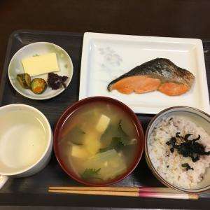 ビタミンB12定食、ダイエット(^^)鮭(^^)