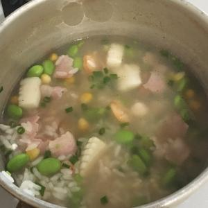 コラーゲン雑炊