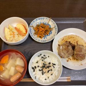 500円定食(^^)ハンバーグ定食(^^)