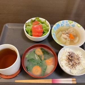 鳥の根野菜煮定食(^^)500円定食(^^)