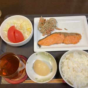 ダイエット定食(^^)シャケ定食(^^)