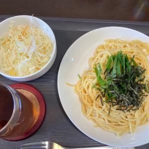 ダイエット定食(^^)たらこスパゲッティ(^^)