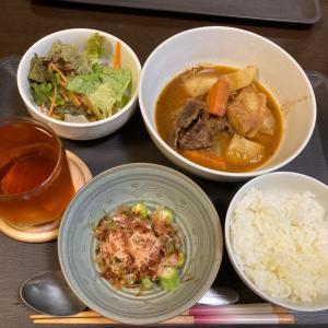500円定食(^^)牛肉の赤ワイン煮定食(^^)