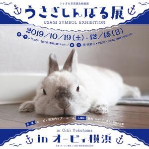 うさぎしんぼる展inオービィ横浜、参加しまーす。
