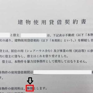 京都府の0円賃貸、いざ契約