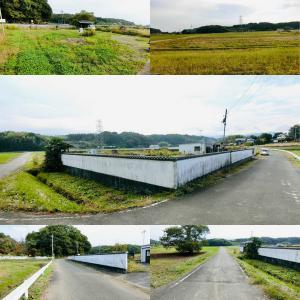 畑・塀に囲まれた隠れ家的な面積528.64m2の土地 1円(埼玉県比企郡鳩山町)