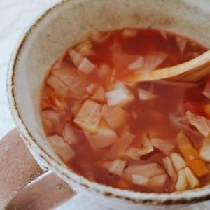 体も暖めるデトックススープ