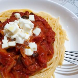 とっても簡単トマトソースパスタレシピ