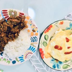 晩ごはんは「こころをこめた」納豆ご飯♪