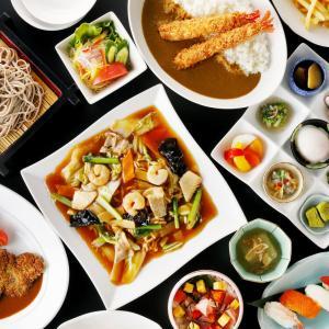 和食、中華、洋食「さあ~この三択でどれっ!!!?}」