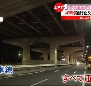 「首都高の高架下、片側4車線を全面通行止めにして子猫を救助~東京都」