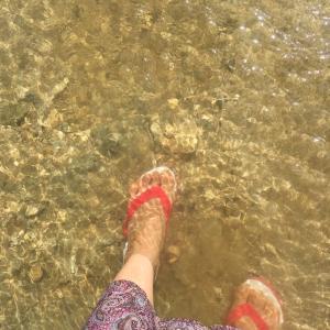 海の力で治癒した膝の違和感 石垣島体験