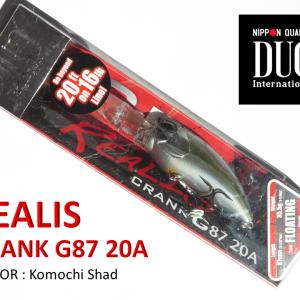 DUO Realis Crank G87 20A入荷