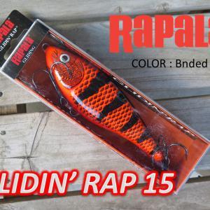 Rapala Glidin' Rap 12 & 15 ラパラ グライディンラップ再入荷‼
