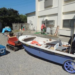 中古ボート、この分だとまだ売り物が出そうですよ~(^^♪
