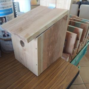 今年も野鳥のための一戸建て、量産しましたーっ♪