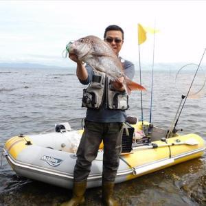 本日の釣果、獲れっ獲れのピッチピチ~♪ と、中古ゴムボート売ります。