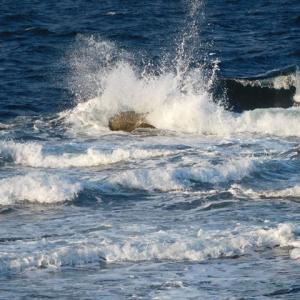 天気晴朗なれど、波高し♪こんな日は海より山!