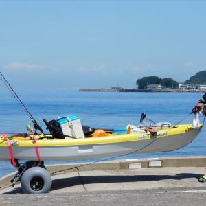 夏の暑さにも負ケズ・・・魚を釣る、そんな人に私はなりたい・・・