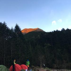 【2018年6月】行者小屋テント泊で阿弥陀岳・赤岳周回その2