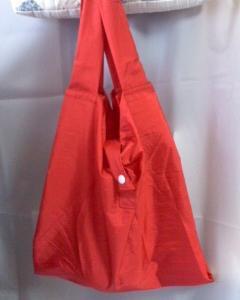 傘布で、レジバッグ