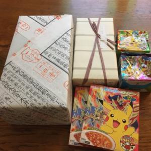優しさいっぱいの日本からの荷物