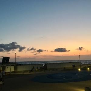 海から帰ってテニスUSオープンで寝不足の日々が始まる