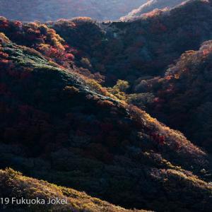 九州風景写真 久住から阿蘇山を望む その2