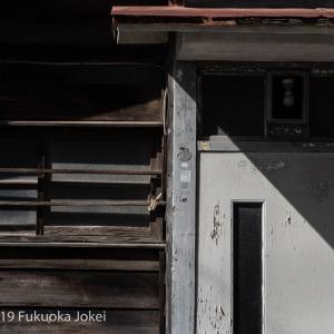 福岡 昭和レトロ 裏通りストリートフォト 南区から中央区へ