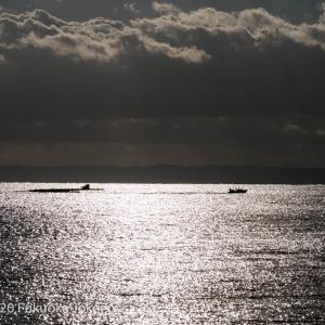糸島半島の冬 海の風景 その1